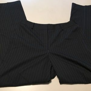 Anne Klein Pinstripe Work Trouser Pants 6